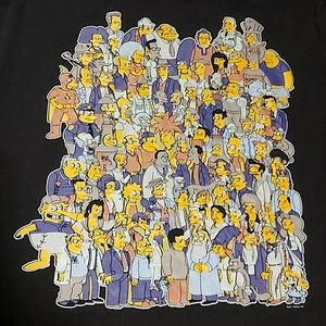 3/$20 The Simpsons Characters T-Shirt
